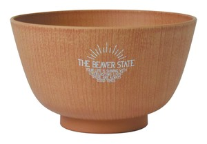 2018 A/W THE BEAVER STATE Series Wood Grain Bowl