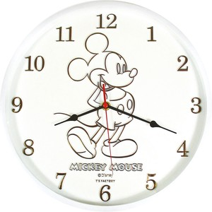 Disney Index Wall Clock Mick White