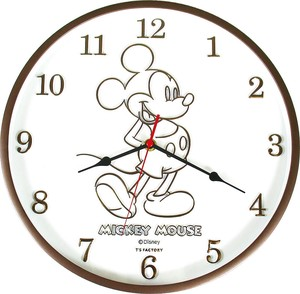 Disney Index Wall Clock Mick Brown