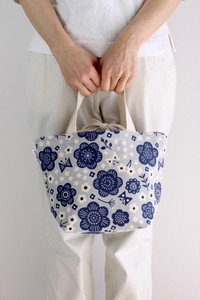 Print Canvas Tote Bag Flower