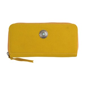 Button Long Wallet