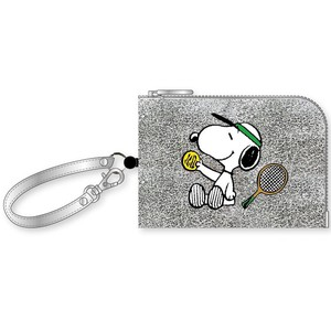 Snoopy Coin Commuter Pass Holder Tennis