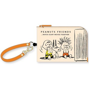 Snoopy Coin Commuter Pass Holder Peanuts Friends