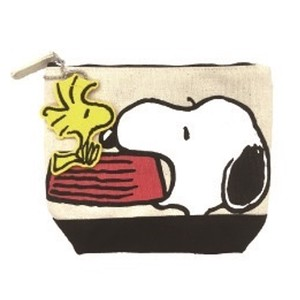 Snoopy Patch Pouch Dog Dish
