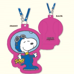 Snoopy Rubber Card Case Astro-Notes
