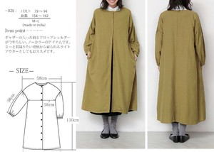2018 A/W Drop Shoulder Coat