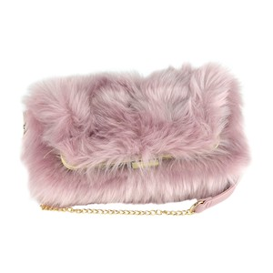 Bag Fake Fur Clutch Bag A/W Material