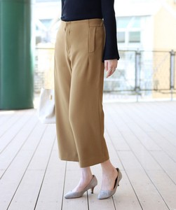 2018 A/W Double Stretch wide pants