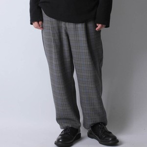 2018 A/W Stretch Material wide pants