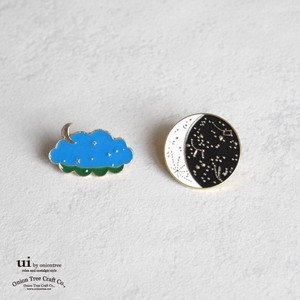 2018 A/W Brooch Moon Star Pins Accessory