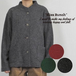 2018 A/W Wool Stand Color Jacket