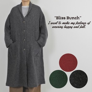 2018 A/W Wool Color Long Coat