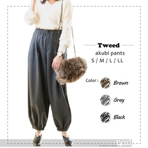 2018 A/W Ladies Pants Tweed Pants