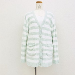 Marshmallow Border Cardigan Loungewear Room Pajama