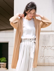 Balloon Long Cardigan