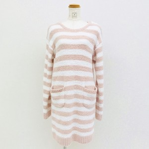 Marshmallow Border One-piece Dress Loungewear Room Pajama