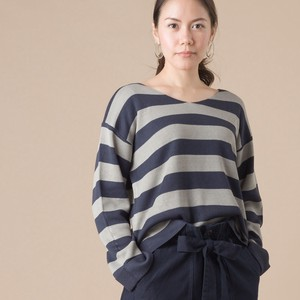 V-neck Knitted Border 2018 A/W