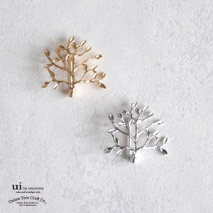 2018 A/W Brooch Tree Plant Accessory