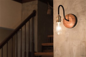 【2color】GENERAL BRACKET LAMP _ CURVE [E26]