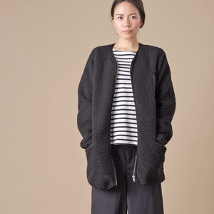 Boa fleece Non-collared Coat 2018 A/W