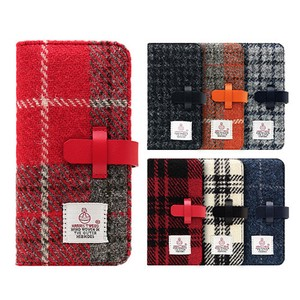 【iPhone XS Max】【iPhone XR】Harris Tweed Diary(ハリスツイードダイアリー)