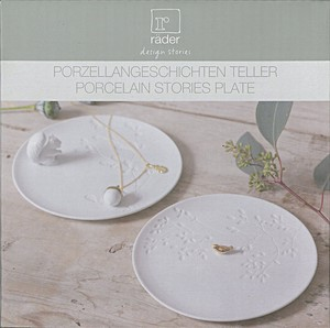 Porcelain story Plate