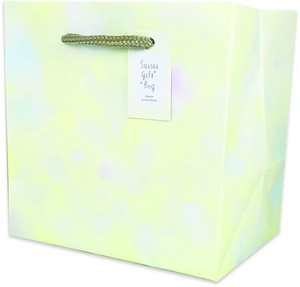 Watercolor Gift Bag Sincerity
