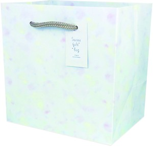 Watercolor Gift Bag Shine