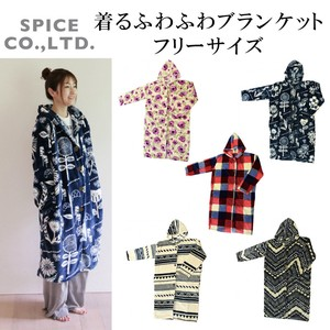 2018 A/W Wear Fluffy Blanket Free Size