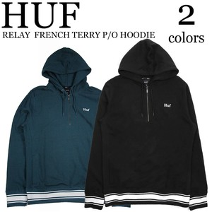 《即納》HUF《2018秋冬》■パーカー■RELAY  FRENCH TERRY P/O HOODIE