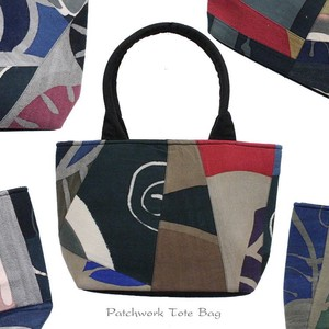 2018 A/W Dyeing Patchwork Tote Bag