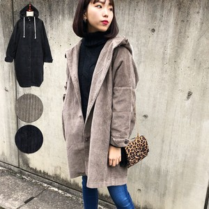 Coat Outerwear With Hood Coat Long Coat A/W