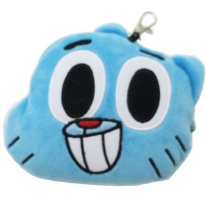 Sweets Ball Soft Toy Face Commuter Pass Holder Ball