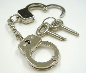Miniature Handcuffs Nickel Nickel