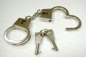 Boys Interesting Handcuffs Nickel Nickel