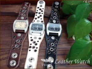 3 Colors Eyelet Watch Maid Japan