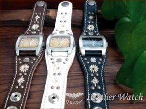 Plating Studs Hand Watch Maid Japan